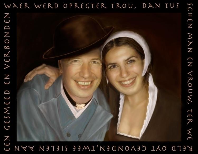 couple married. text poem Joost - marjon-4891 | ello