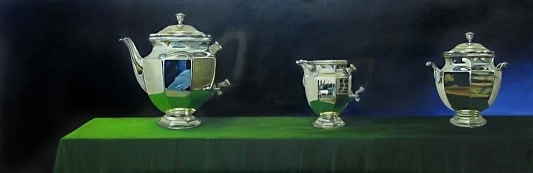 Oil canvas 180 80 cm - painting - marjon-4891 | ello