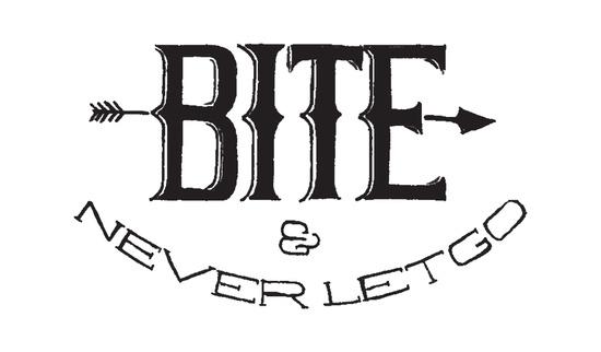 bite - letgo, handdrawn, handlettering - hueroth | ello