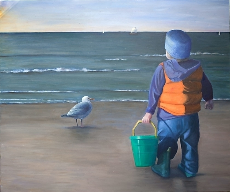 Oil canvas 125 10 cm - painting - marjon-4891   ello