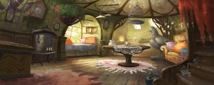 illustration, interior - anna_warzecha   ello
