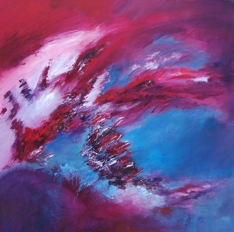Year dragon 80 cm - painting - xplore-1239 | ello