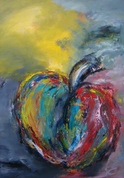 Zin om een appel te schilderen  - xplore-1239 | ello