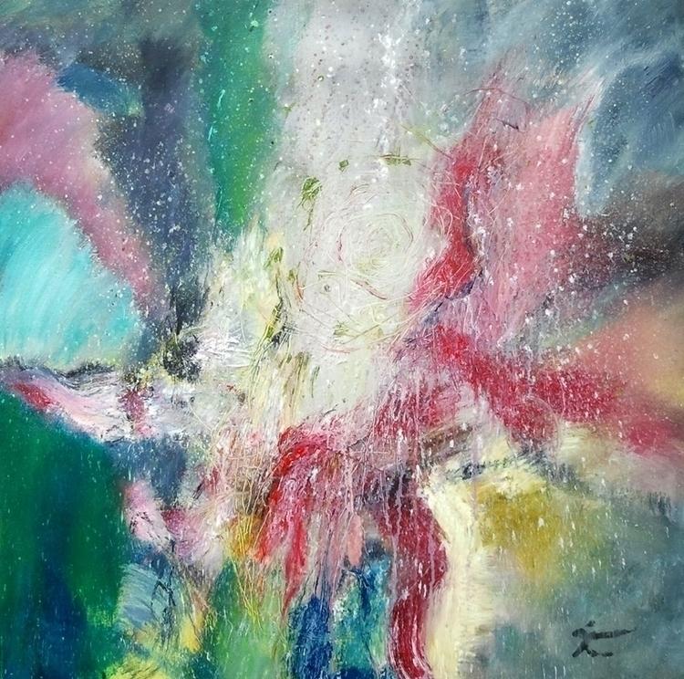 Zijweggetje 80 cm - painting - xplore-1239   ello