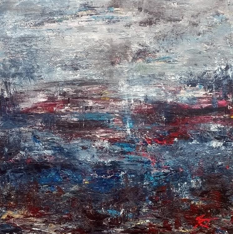 Water landscape 12 50 cm - painting - xplore-1239 | ello