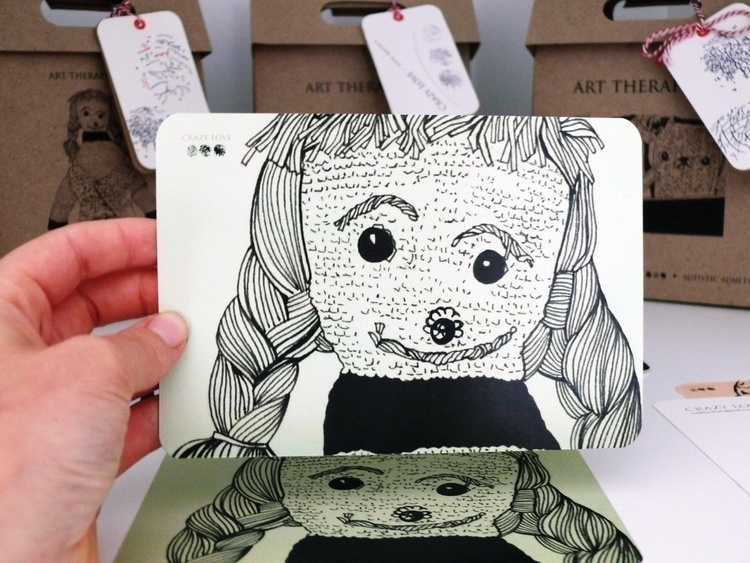 Hand-drawn illustration postcar - sheree-3254 | ello