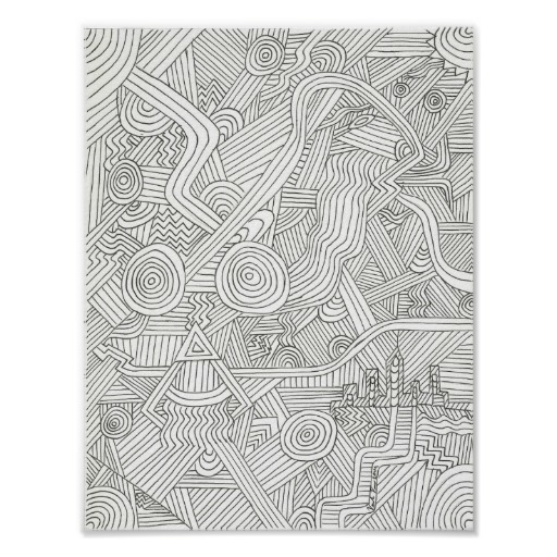 Line Art - illustration, abstract - vincevicari | ello