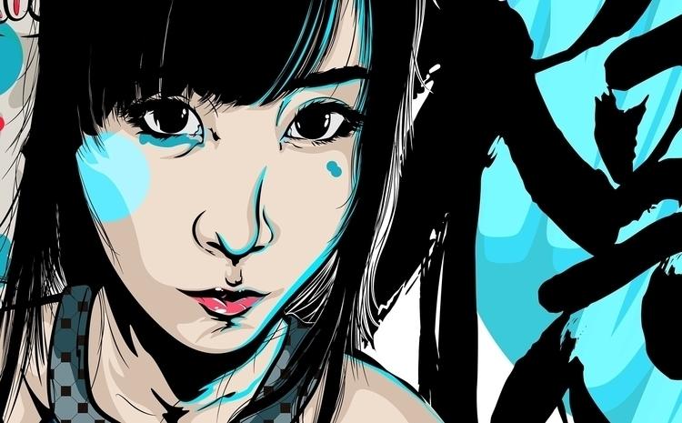 Tokyo - illustration, drawing, art - atsukosan-3588 | ello