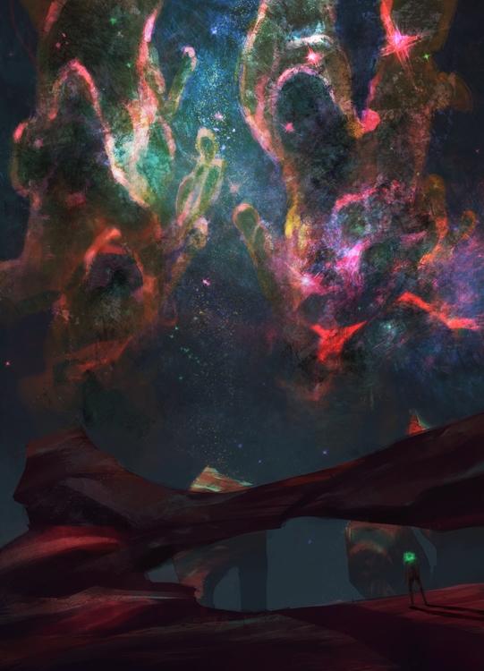 Inhabitable - illustration, nebula - akrishna-9476 | ello