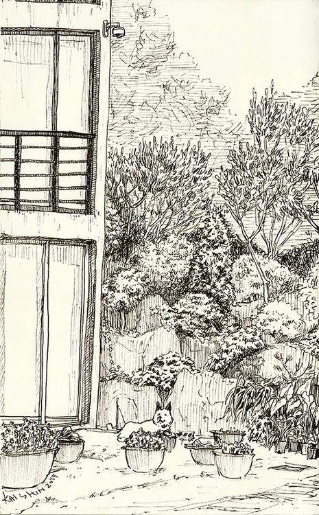 sketchbook, sketch, lineart, illustration - kshin   ello