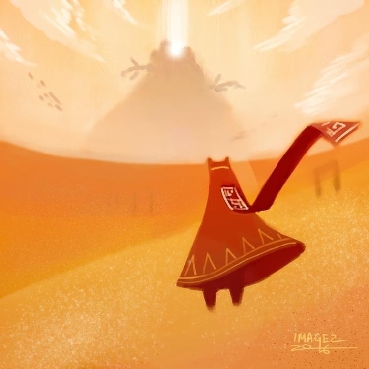 Journey, beautifual game - fanart - imagezart | ello