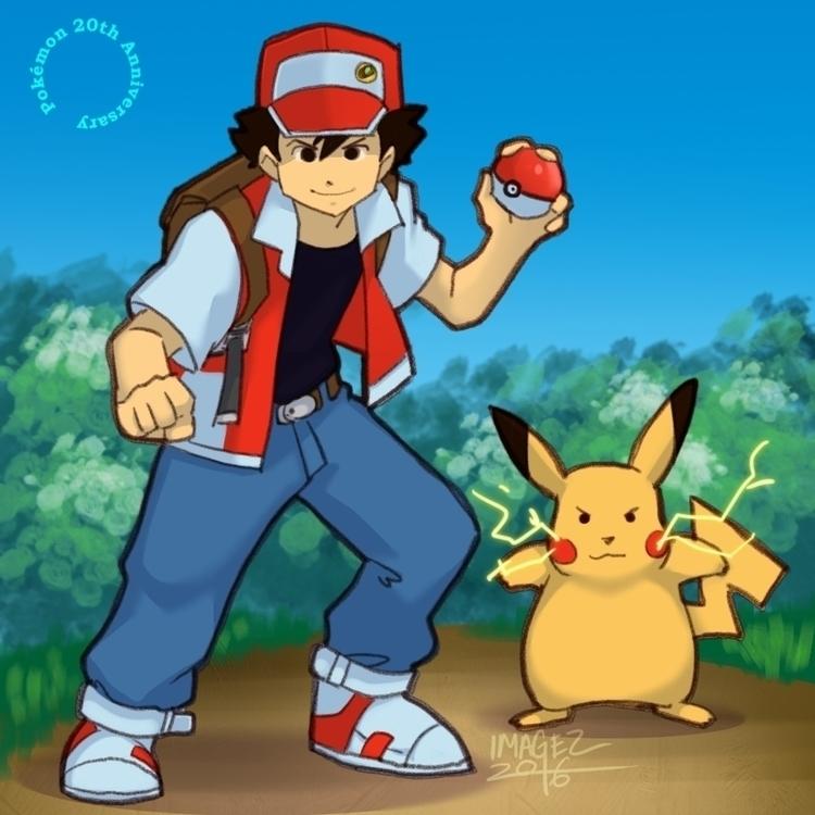 wanna - fanart, pokemon, trainerred - imagezart | ello