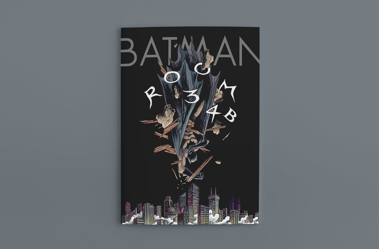 Batman Room 34B Kris Miklos - batman - krismiklos | ello