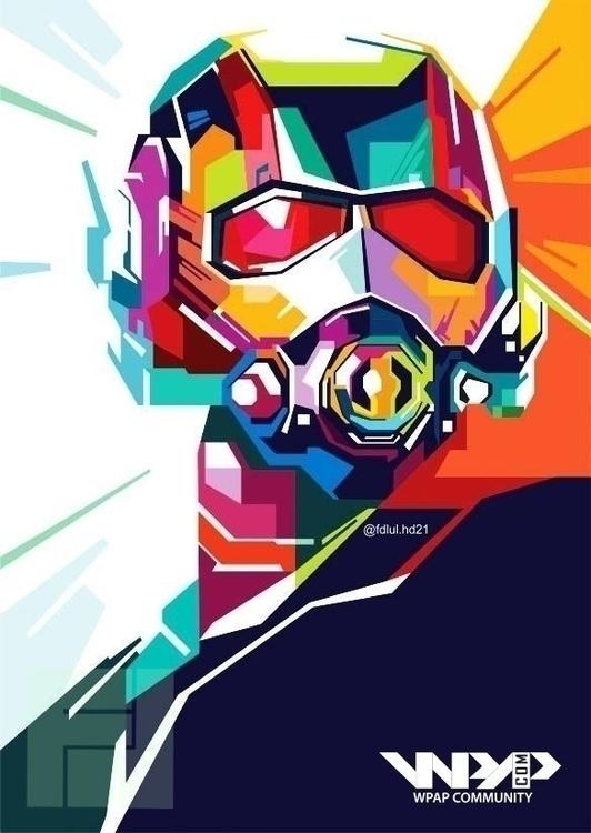 Ant-Man - illustration, design, gameart - fh21 | ello