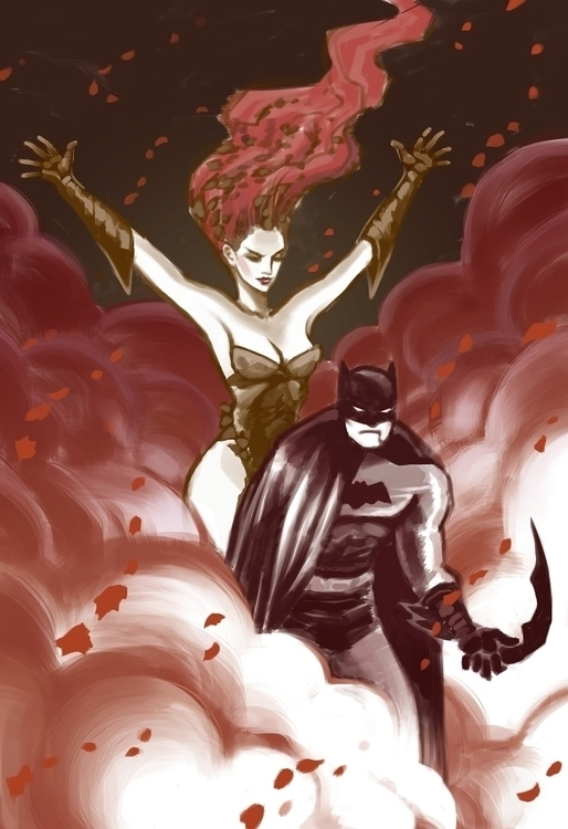Batman Ivy Kris Miklos - batman - krismiklos | ello