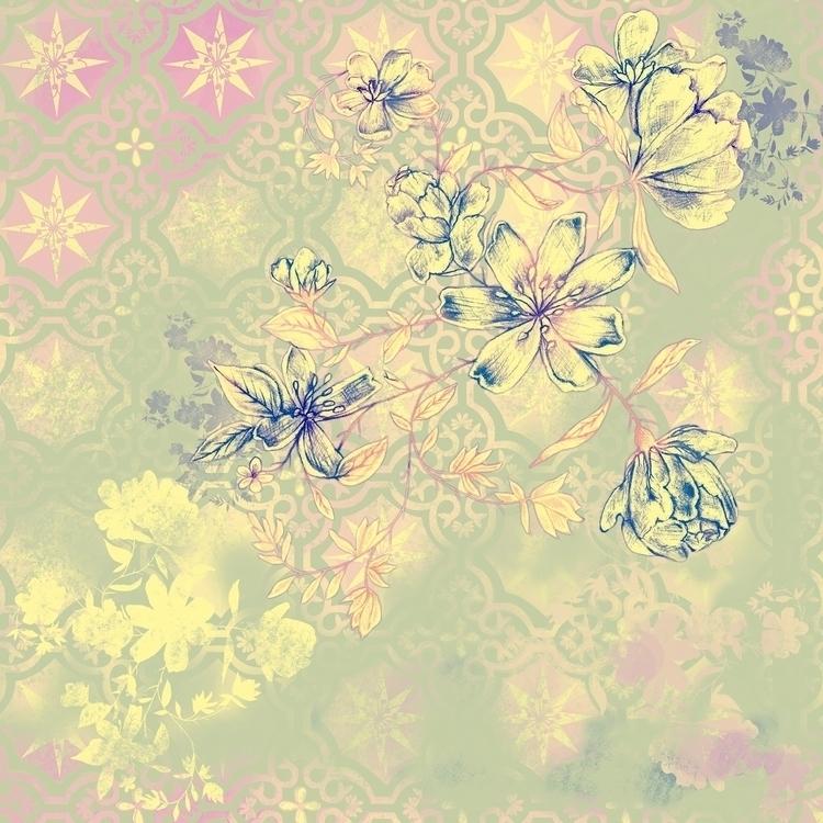 Florais Portenhos - title, vintage - cibelle-7505 | ello