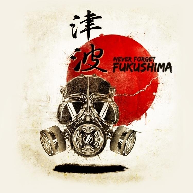 forget Fukusima - illustration, drawing - jesss-1248 | ello