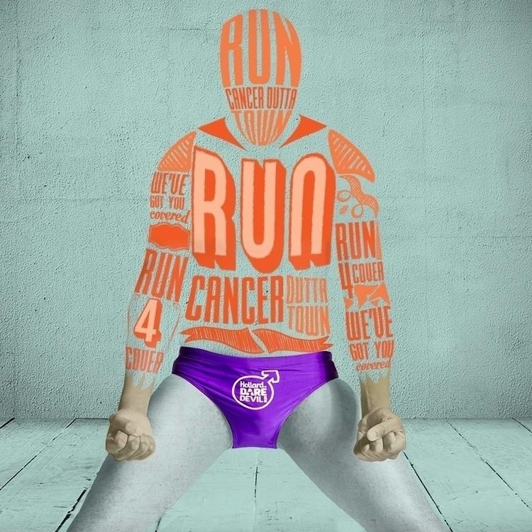 RUN CANCER OUTTA TOWN - graphicdesign - leratodavid   ello