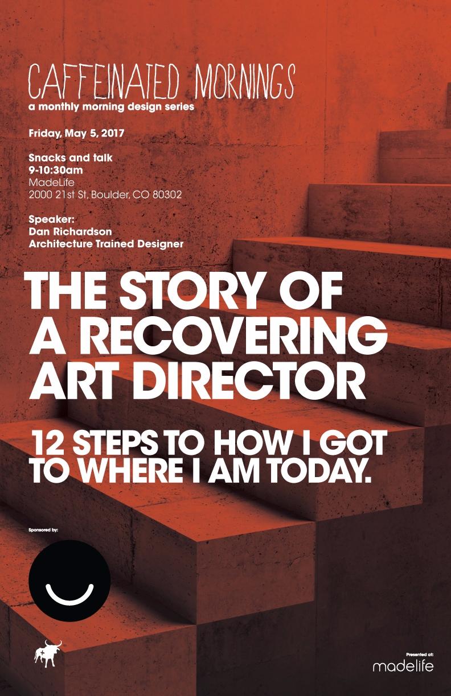 STORY RECOVERING ART DIRECTOR C - caffeinatedmornings | ello