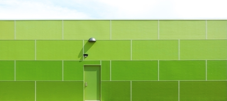 Green Wall Sky - abstract,, archivecollectivemag, - chrishuddleston | ello