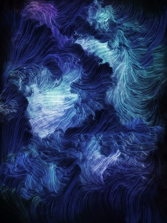 Ursula. Generative art - jandersdotter | ello
