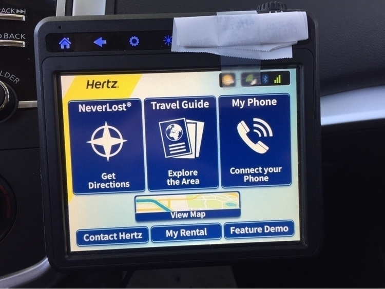 blocks rental car GPS camera? Z - nagnagnag   ello
