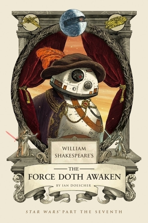 Behold BB-8 droid Shakespeare-e - bonniegrrl | ello