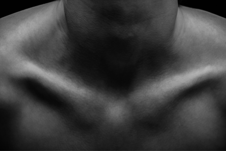 Clavicle  - portrait, portraits - networkabstracted | ello