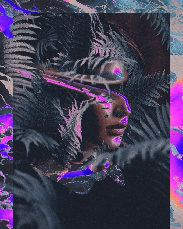 Nesa - digitalart, abstract, artdaily - dorianlegret | ello