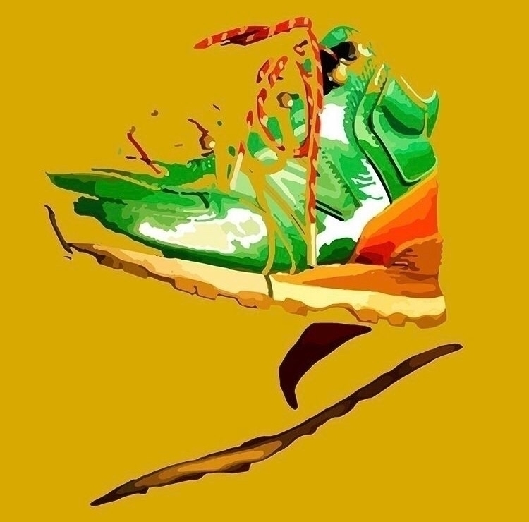 newbalance, graphicart, graphicartwork - ogfaby | ello