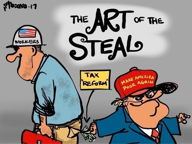 Stolen Art - illustration,, editorial, - sstoddard | ello