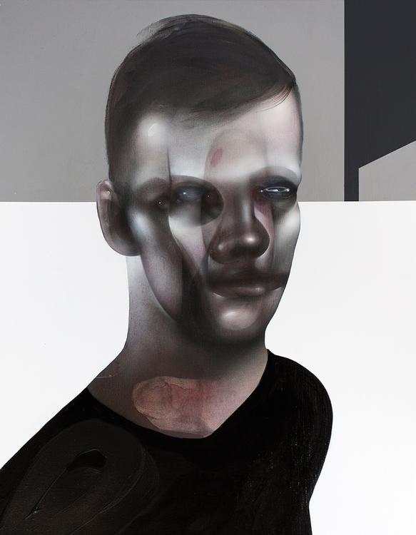 Black Sweater Acrylics charcoal - reuss | ello