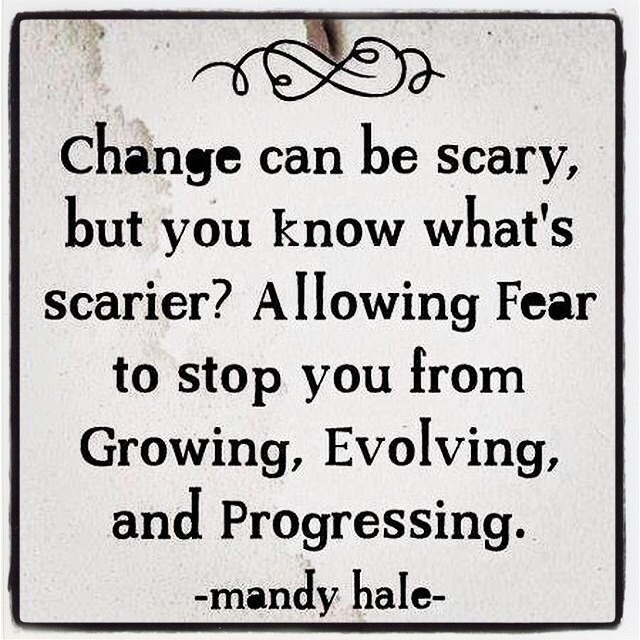 Change scary. scarier? Allowing - esquirephotography   ello