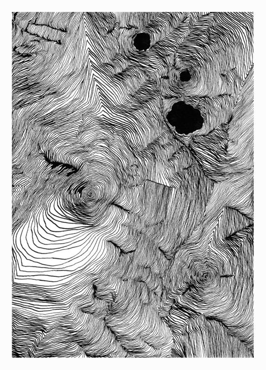Room 23. 297x210mm, 2017 - art, hell - carpmatthew | ello