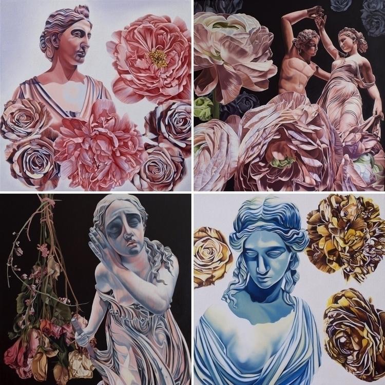 Prints shop - oilpaintings, art#artwork#realism#painting - brandiread   ello