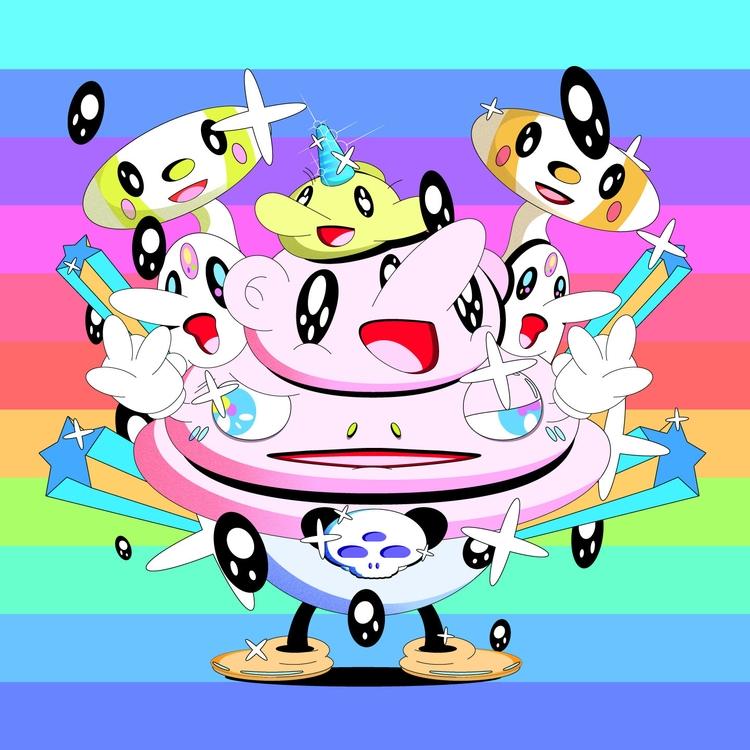 Poke-Poke - Tokyo, chibi, characterdesign - natekogan | ello