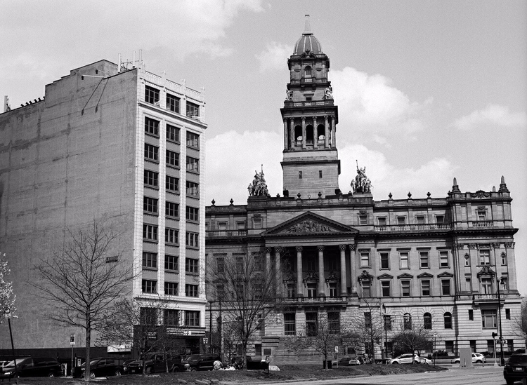 Wayne County Building. Mamiya 6 - mlmyers   ello