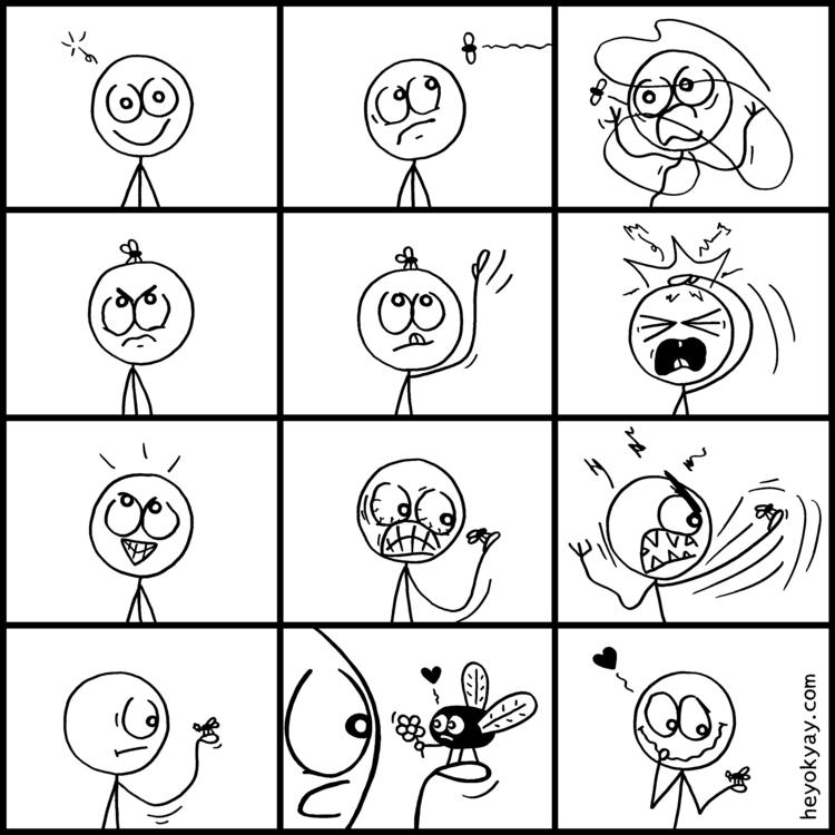 Fly | - fly, slapstick, humor, comic - heyokyay | ello