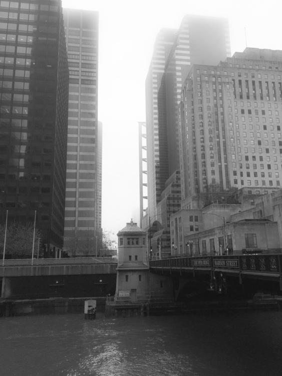 Foggy Day Chicago - exinerartstudio | ello