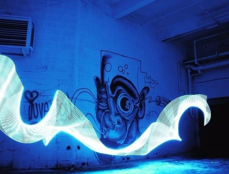 Kerk Gent series, pic nr. 2 - graffitilights - graffitilights | ello