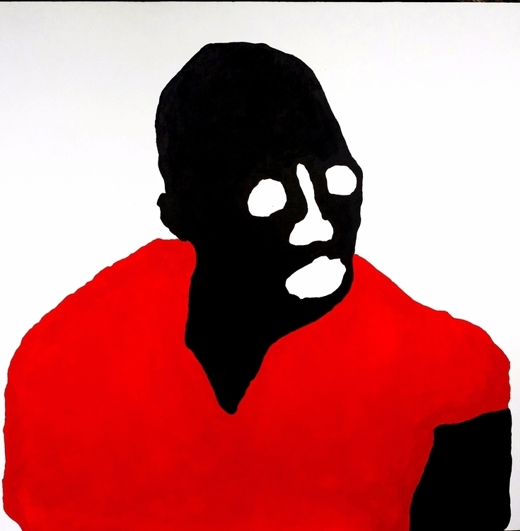 Gérard Quenum Acrylic canvas - blackartmatters | ello