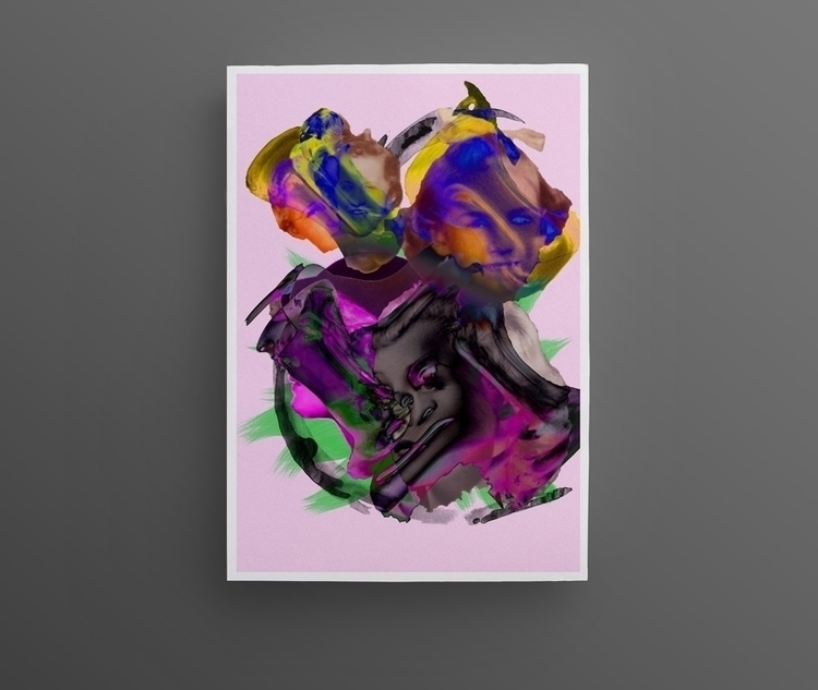 Poster Trippy — Julien Courtial - juliencourtial | ello