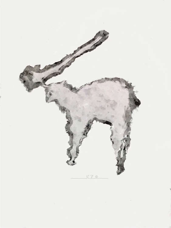 'Irish Elk' (2017) Water spot p - iquitoz | ello