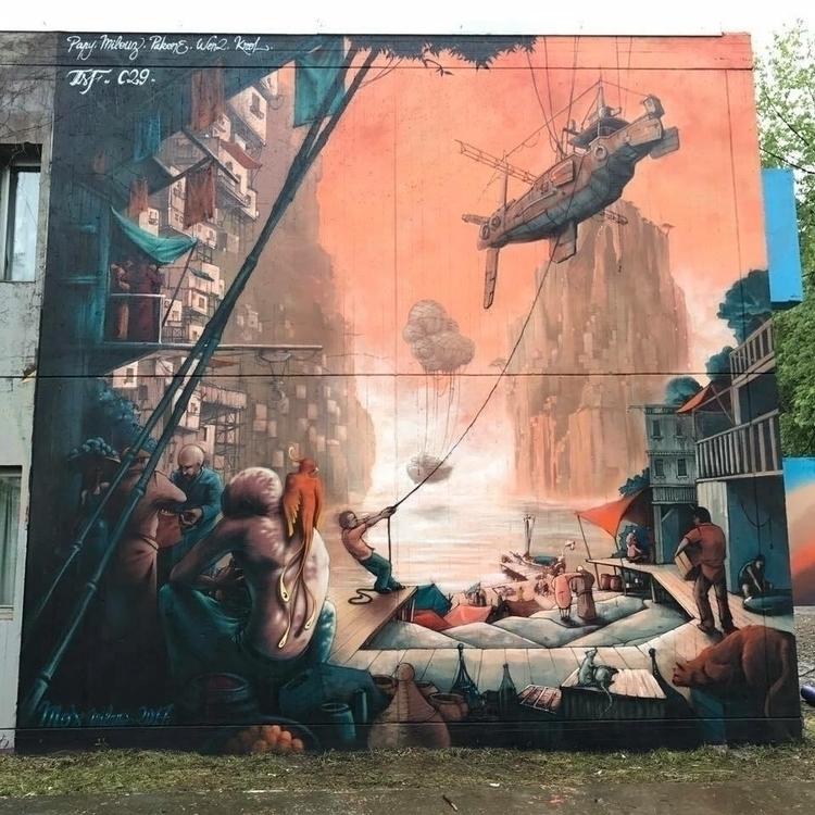 Artist: MOS Milano - streetartunitedstates | ello