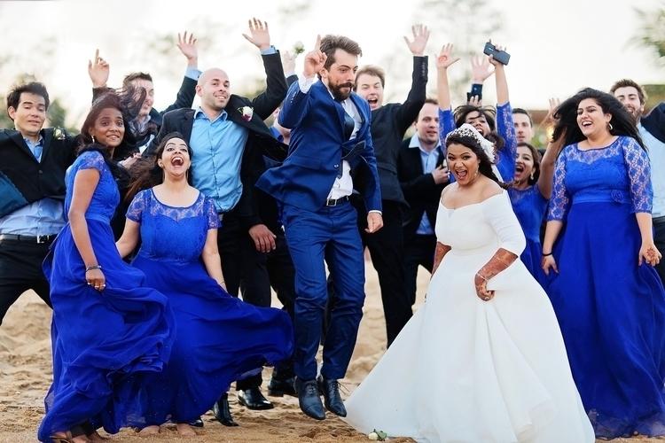 Wait Shooting bridesmaids groom - bharatmudgalweddings | ello
