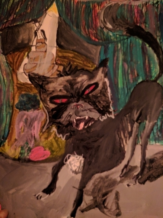 art group Theme ,#straycat - demonkitty - katroselamb | ello