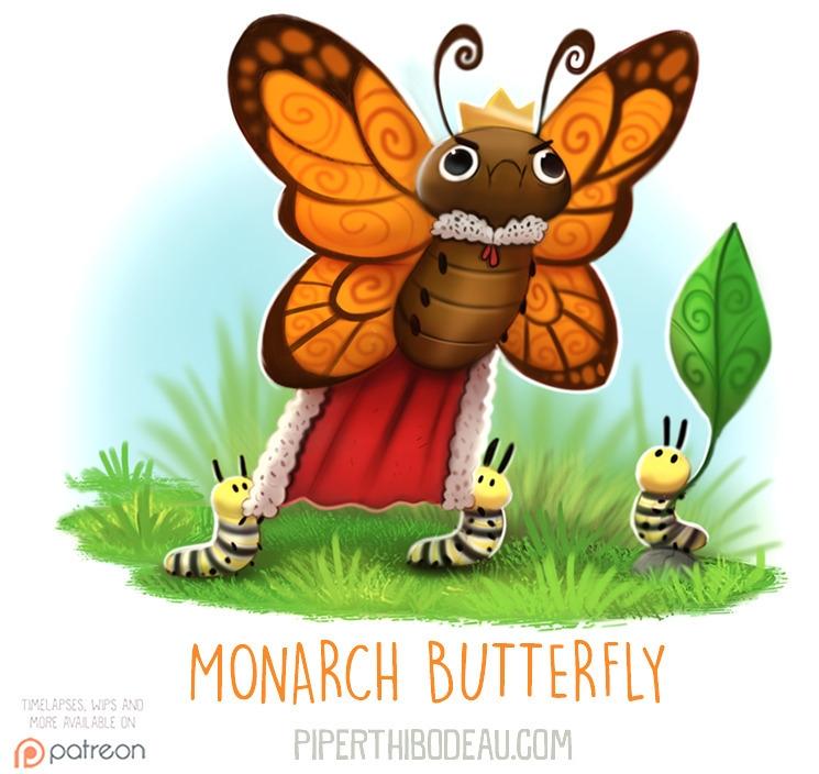 Daily Paint 1607. Monarch Butte - piperthibodeau | ello