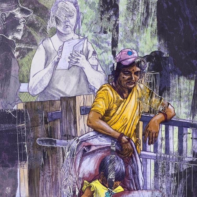 personal piece dealing cultural - mjtillustration | ello