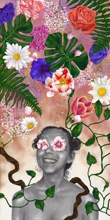 Life Digital Painting - elaine_katherine_benoit | ello