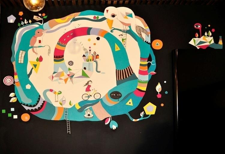 mural painting KIDS ROOM - alinabradu | ello